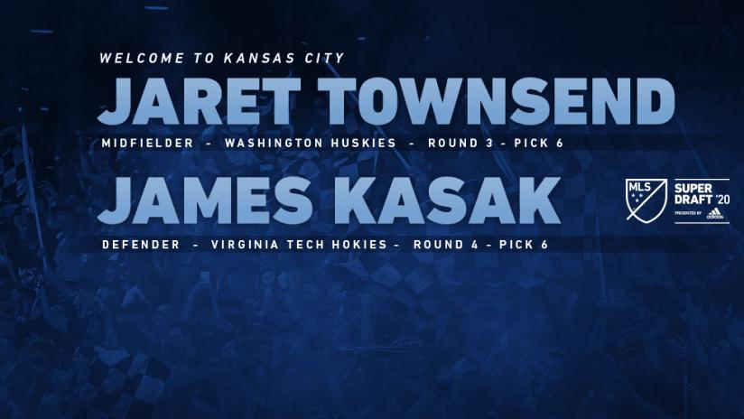 Jaret Townsend and James Kasak - 2020 MLS SuperDraft - DL Image