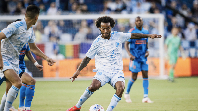 Gianluca Busio - Sporting KC vs. Houston Dynamo FC - May 29, 2021