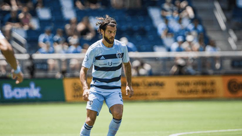 Graham Zusi - Sporting KC vs. Austin FC - June 12, 2021