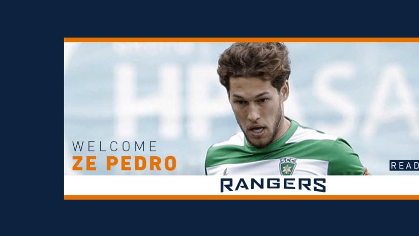 SPR Signs Ze Pedro