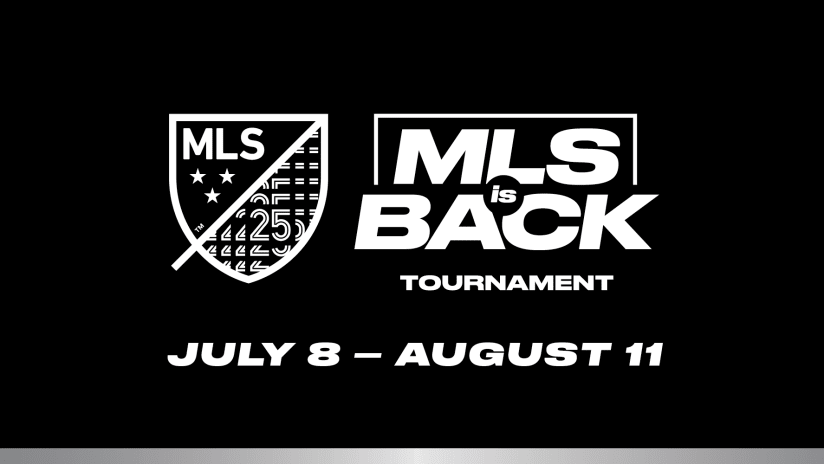 MLS is Back - black logo with dates