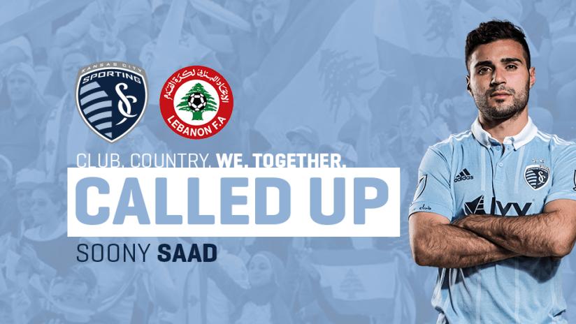 Soony Saad Lebanon Call-Up