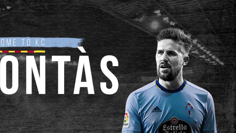 Sporting KC signs defender Andreu Fontas - DL image