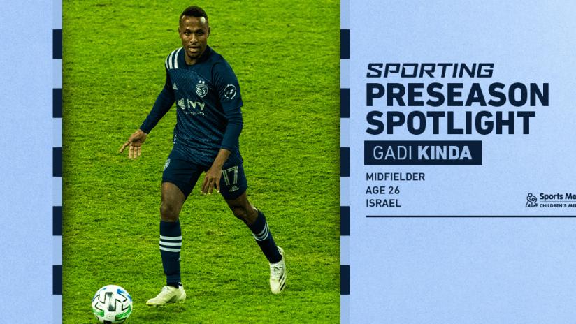 Sporting Preseason Spotlight - Gadi Kinda