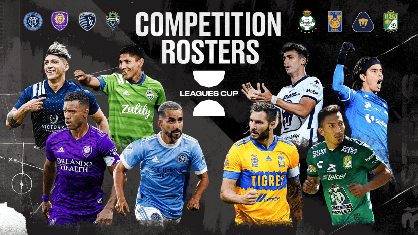 Leagues Cup 2021 Rosters