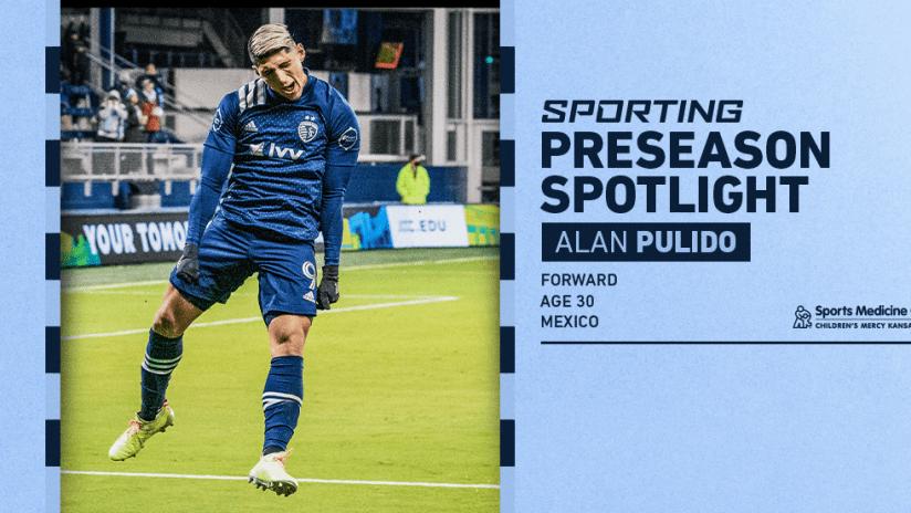 Sporting Preseason Spotlight - Alan Pulido