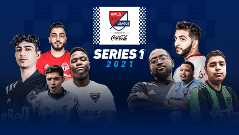 2021 eMLS League Series One graphic