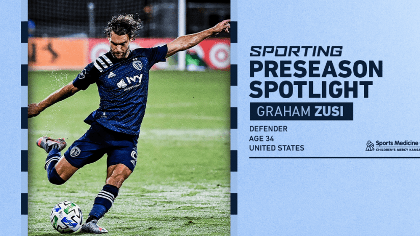 Sporting Preseason Spotlight - Graham Zusi