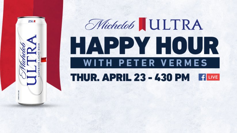 Peter Vermes - Michelob Ultra Happy Hour on Facebook Live