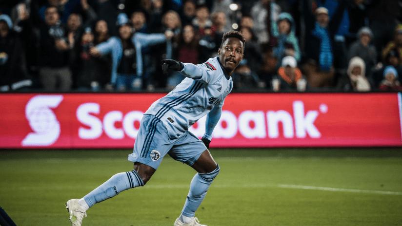 Gerso Fernandes - Sporting KC vs. Monterrey - April 11, 2019