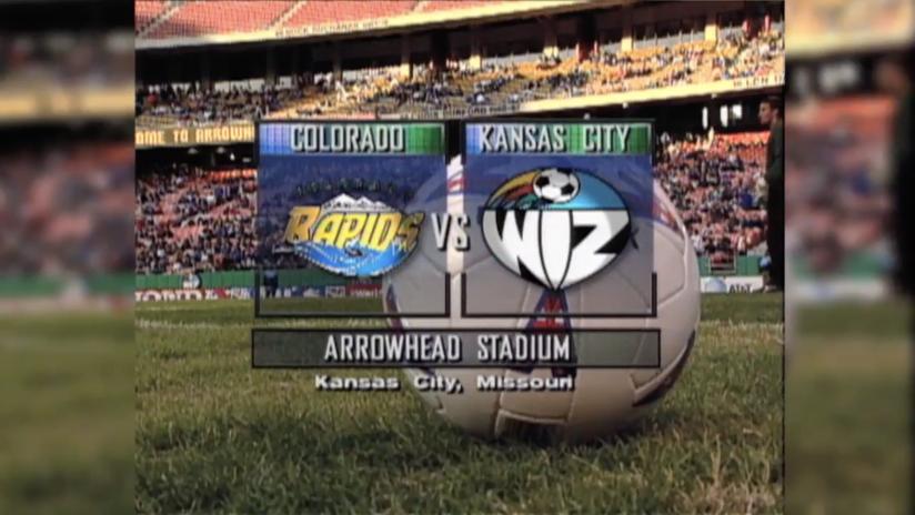 Inaugural Match - April 13, 1996 - Kansas City Wiz