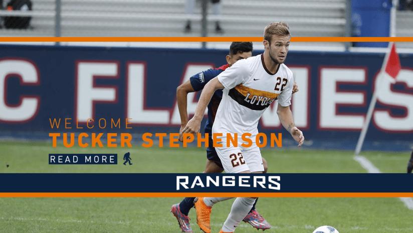 SPR Signs Tucker Stephenson