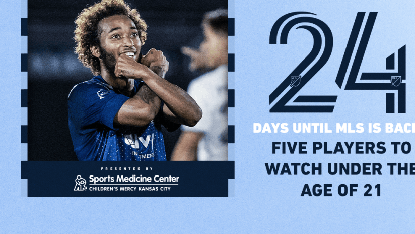 Preseason Countdown presented by Children's Mercy - 24 Days