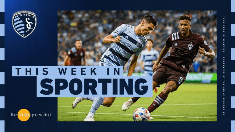 This Week in Sporting - Aug. 30, 2021