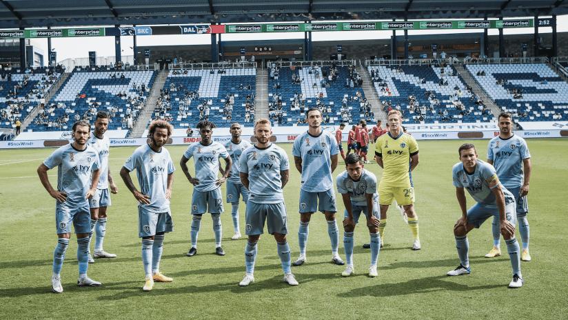 Starting XI photo - Sporting KC vs. FC Dallas - Sept. 19, 2020