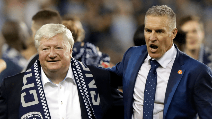 Cliff Illig and Peter Vermes - Sporting KC ownership