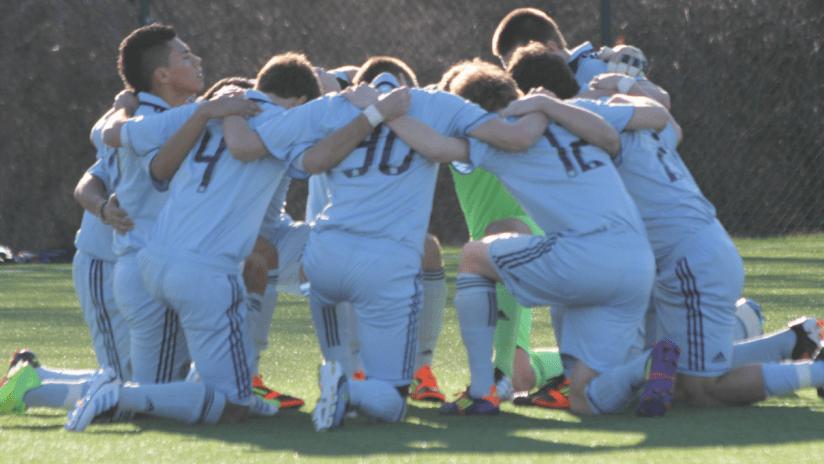 Academy teams host SLSG on Sunday -