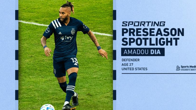 Sporting Preseason Spotlight - Amadou Dia