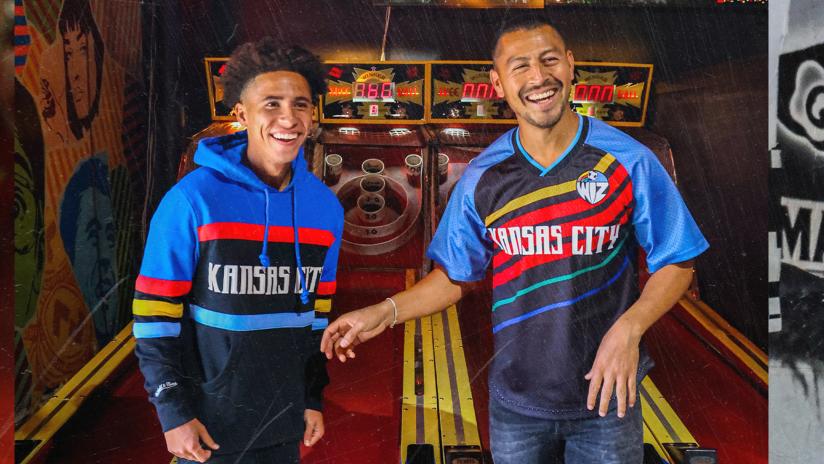 Sporting KC 2021 Retro Collection - Cam Duke and Roger Espinoza