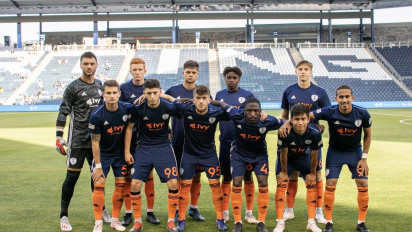 Starting XI - Swope Park Rangers vs. Loudoun United FC - June 5, 2019