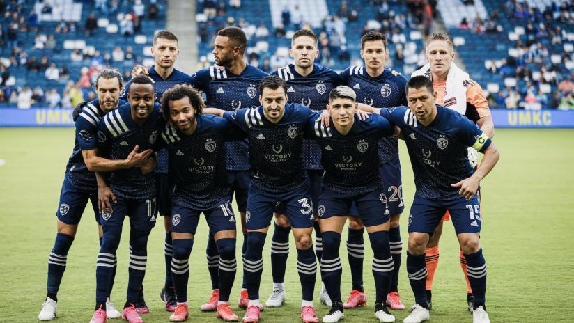 Starting XI - Sporting KC vs. Vancouver Whitecaps FC - May 16, 2021