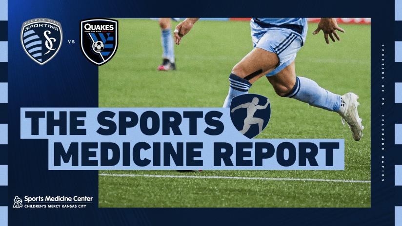 Sports Medicine Report - July 21, 2021