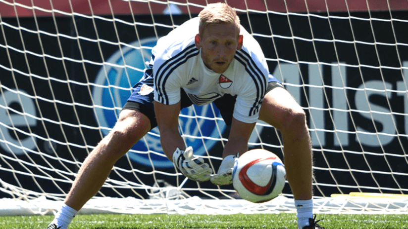 David Ousted - 2015 MLS All-Star Game Training