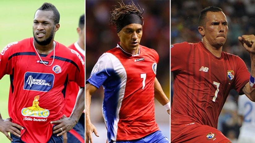 Waston, Bolanos, Perez - Costa Rica and Panama