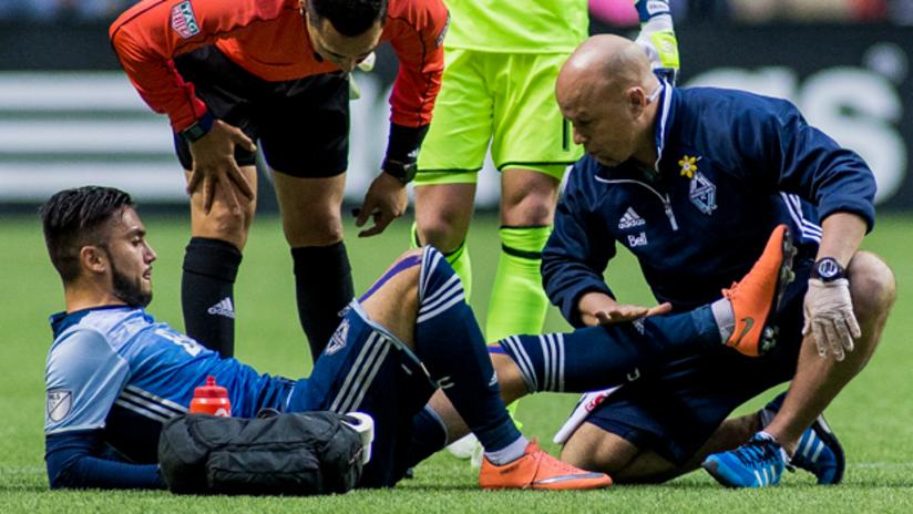 Morales injury with Jake