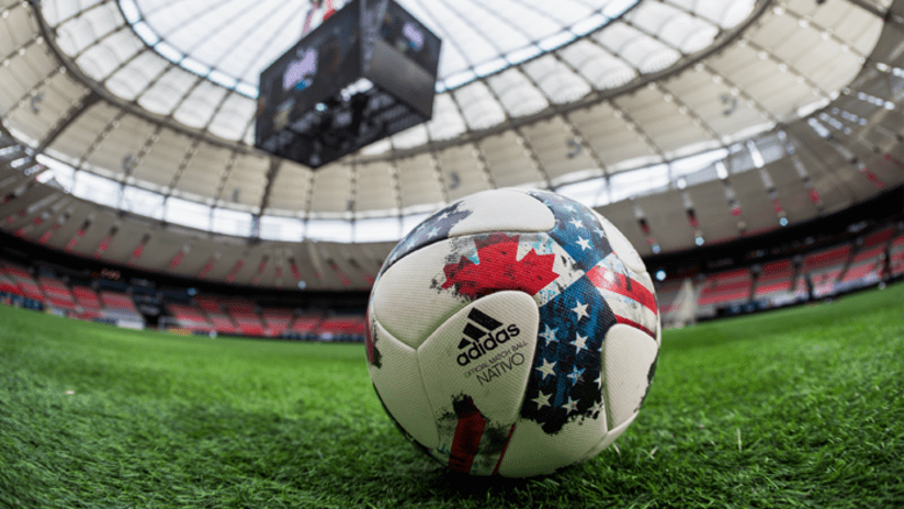 MLS ball in bc place - 2017