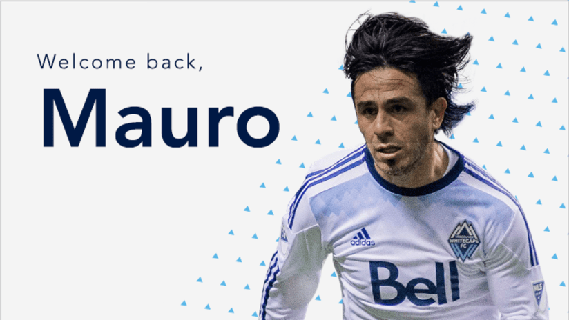 Welcome back Mauro