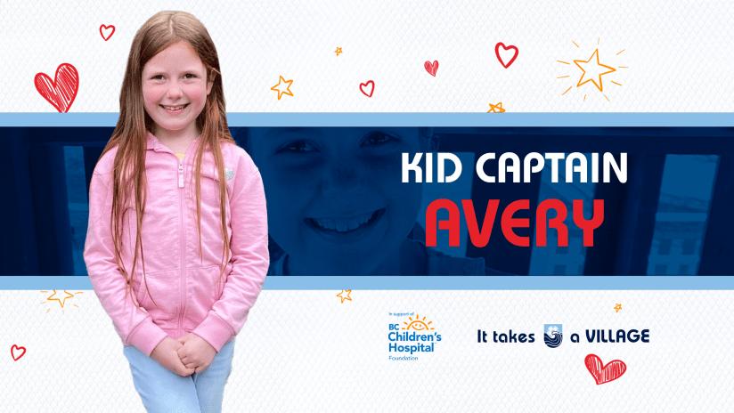 Kid Captain Avery
