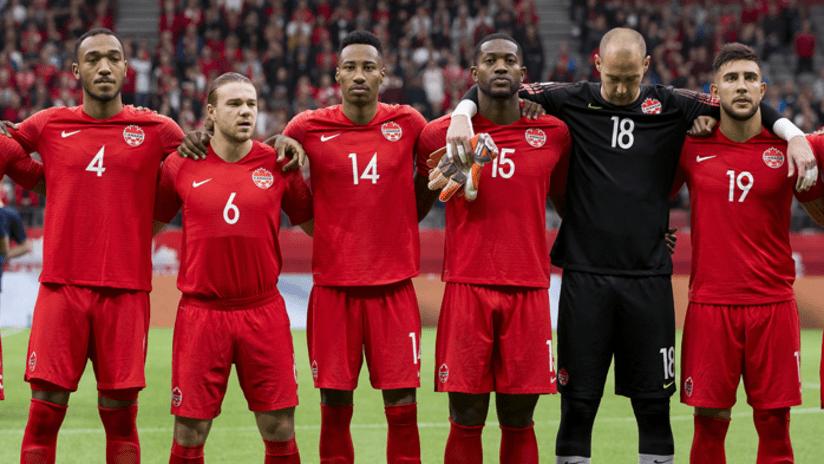 Canadian national team - anthem - Henry - Cornelius