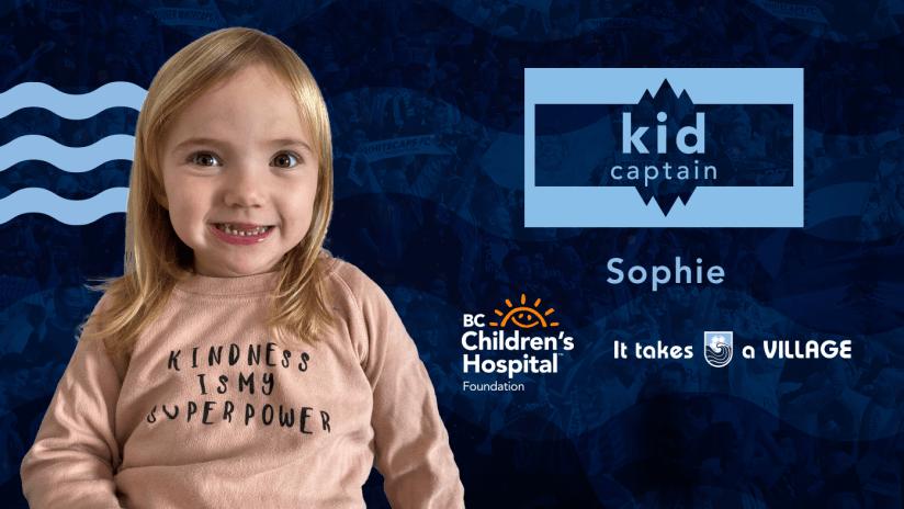 Kid Captain - Sophie