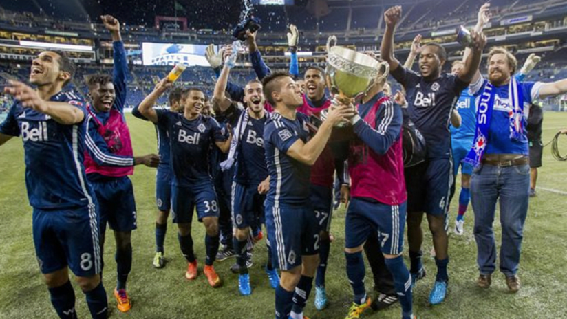 Cascadia Cup celebrations - 2014