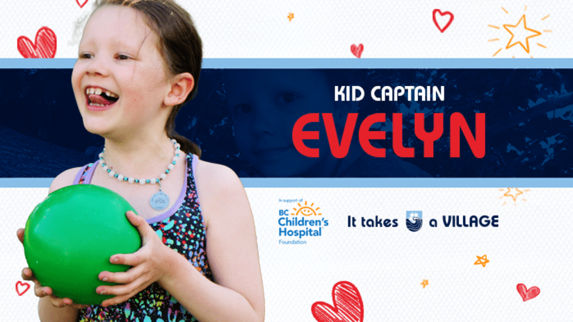 Kid Captain of the Match: Evelyn