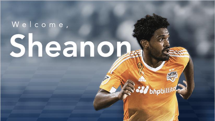 Sheanon Williams welcome graphic