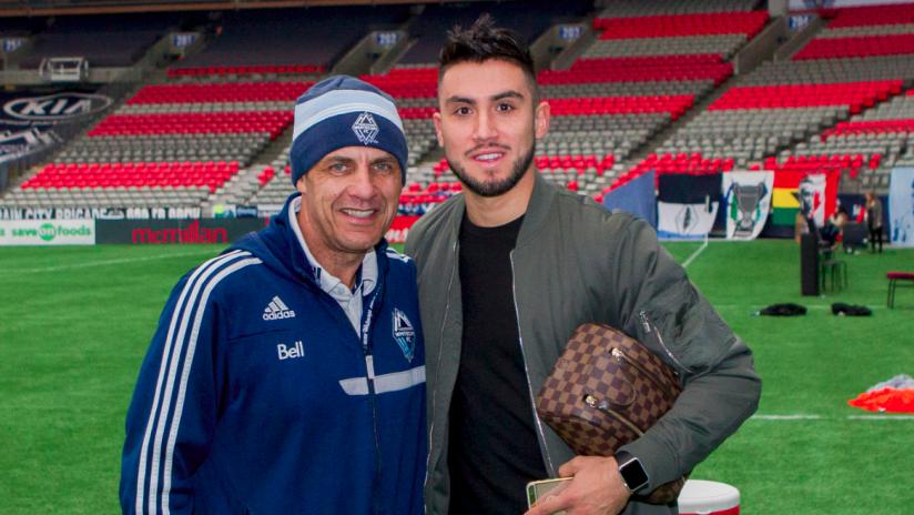 Carl Valentine and Pedro Morales