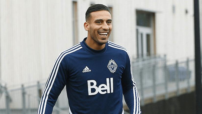 Ali Adnan - training - smiling