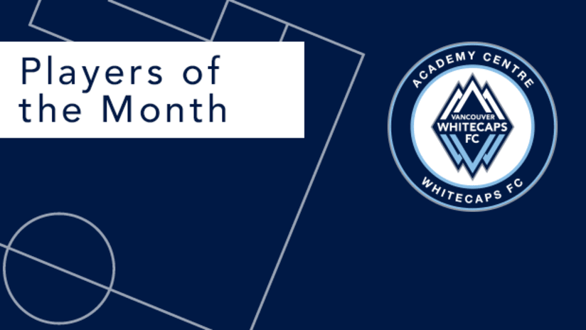 Academy Centre Players of the Month