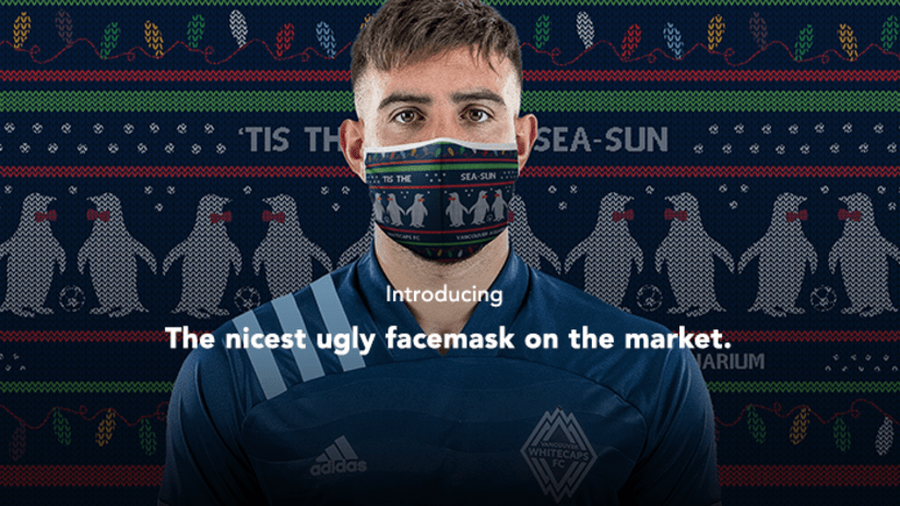 Ugly Christmas Sweater Facemask