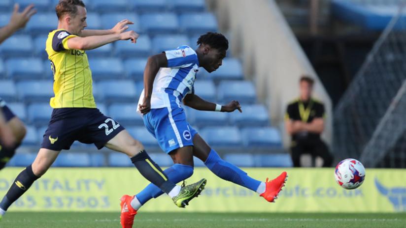 Sam Adekugbe first pro goal - Brighton