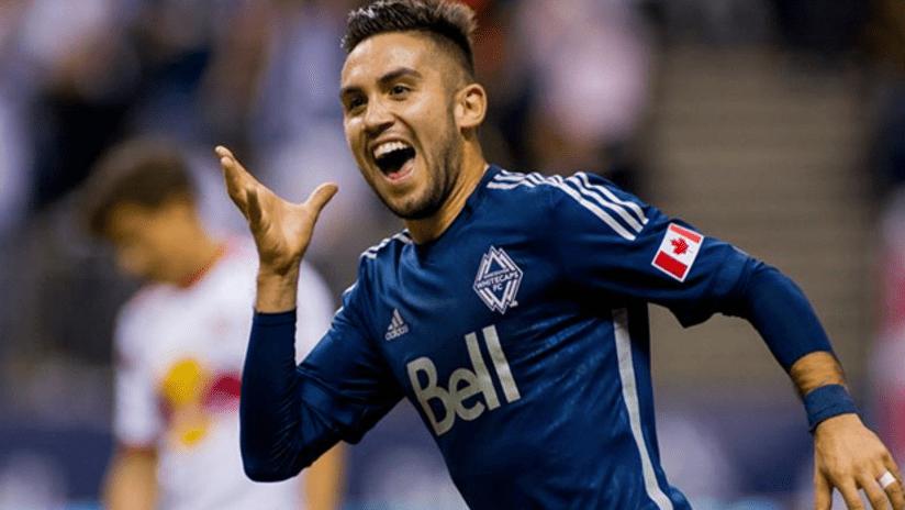 Pedro Morales celebration debut