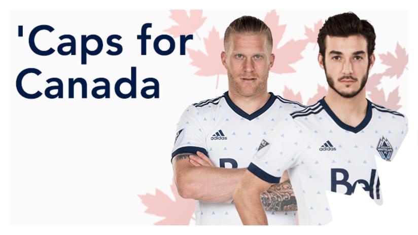 de Jong, Teibert - Caps for Canada call-up