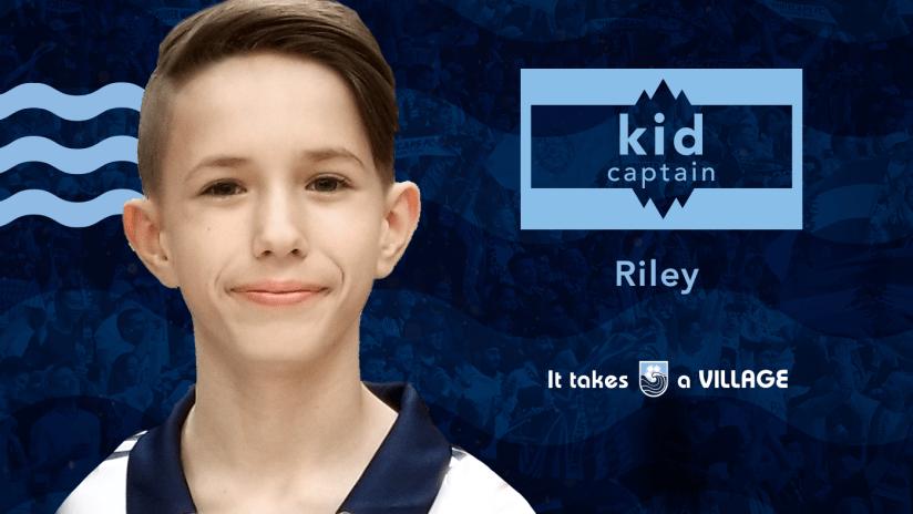 Kid Captain - Riley