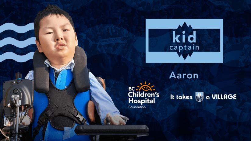 Kid Captain - Aaron