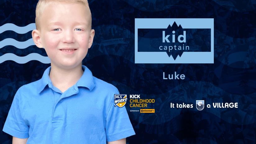 Kid Captain - Luke