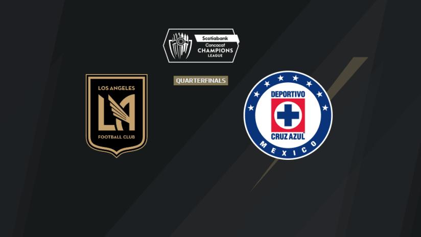 CCL - 2020 - Leg 1 - LAFC vs Cruz Azul