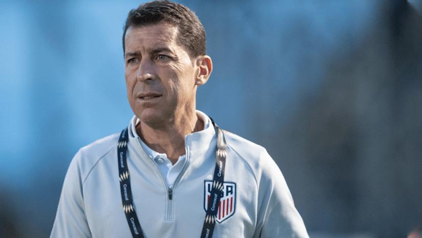 Tab Ramos - National Team - medium shot