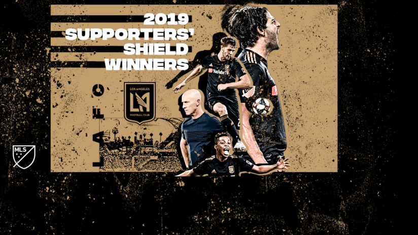 Awards - 2019 - Supporters' Shield - LAFC